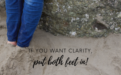 DO YOU HAVE ONE FOOT IN AND ONE FOOT OUT IN YOUR RELATIONSHIP?