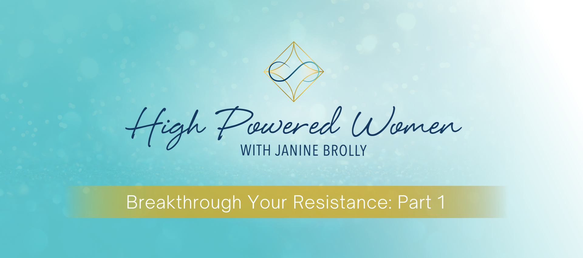 Breakthrough Your Resistance Part 1